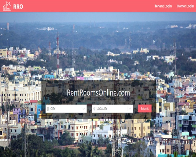 Room Rent Portal Website
