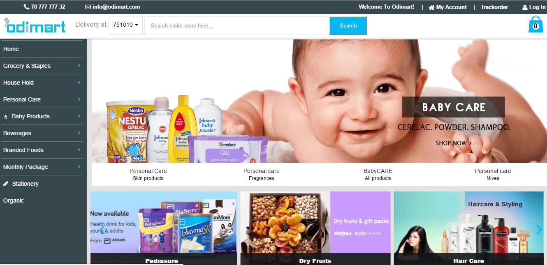 Online Grocery - Odimart