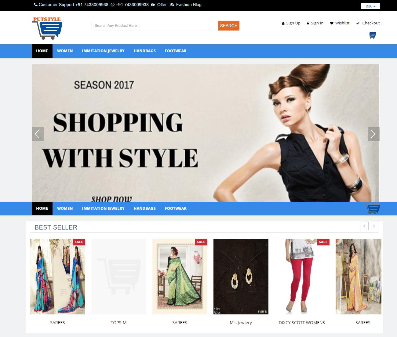 Online Fashion- Putstyle