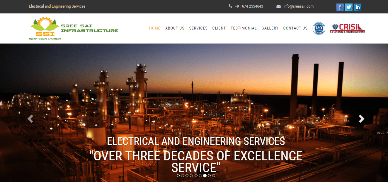 CMS - Electrification Company Website